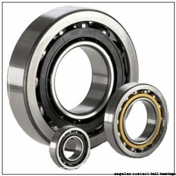 45 mm x 100 mm x 25 mm  NACHI 7309CDT angular contact ball bearings