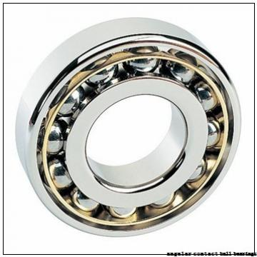 105 mm x 225 mm x 49 mm  NSK 7321 A angular contact ball bearings
