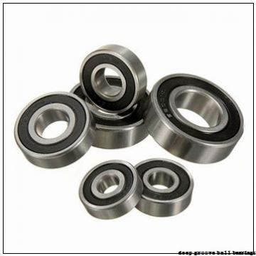 25 mm x 52 mm x 27 mm  ISO SB205 deep groove ball bearings