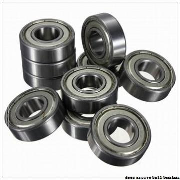 6,35 mm x 9,525 mm x 3,175 mm  NSK R 168 BZZ deep groove ball bearings