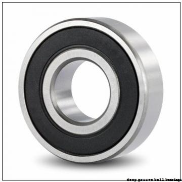 25 mm x 52 mm x 18 mm  ISB 62205-2RS deep groove ball bearings