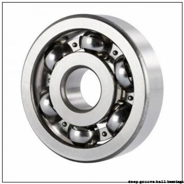 28 mm x 58 mm x 16 mm  KOYO 62/28N deep groove ball bearings