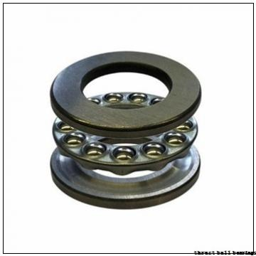 65 mm x 140 mm x 18 mm  ISB 54316 U 316 thrust ball bearings