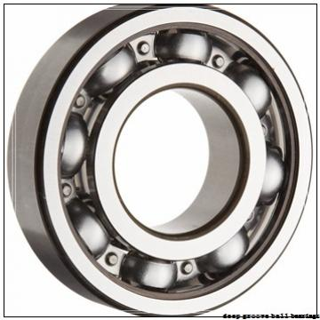 90 mm x 140 mm x 16 mm  NSK 16018 deep groove ball bearings